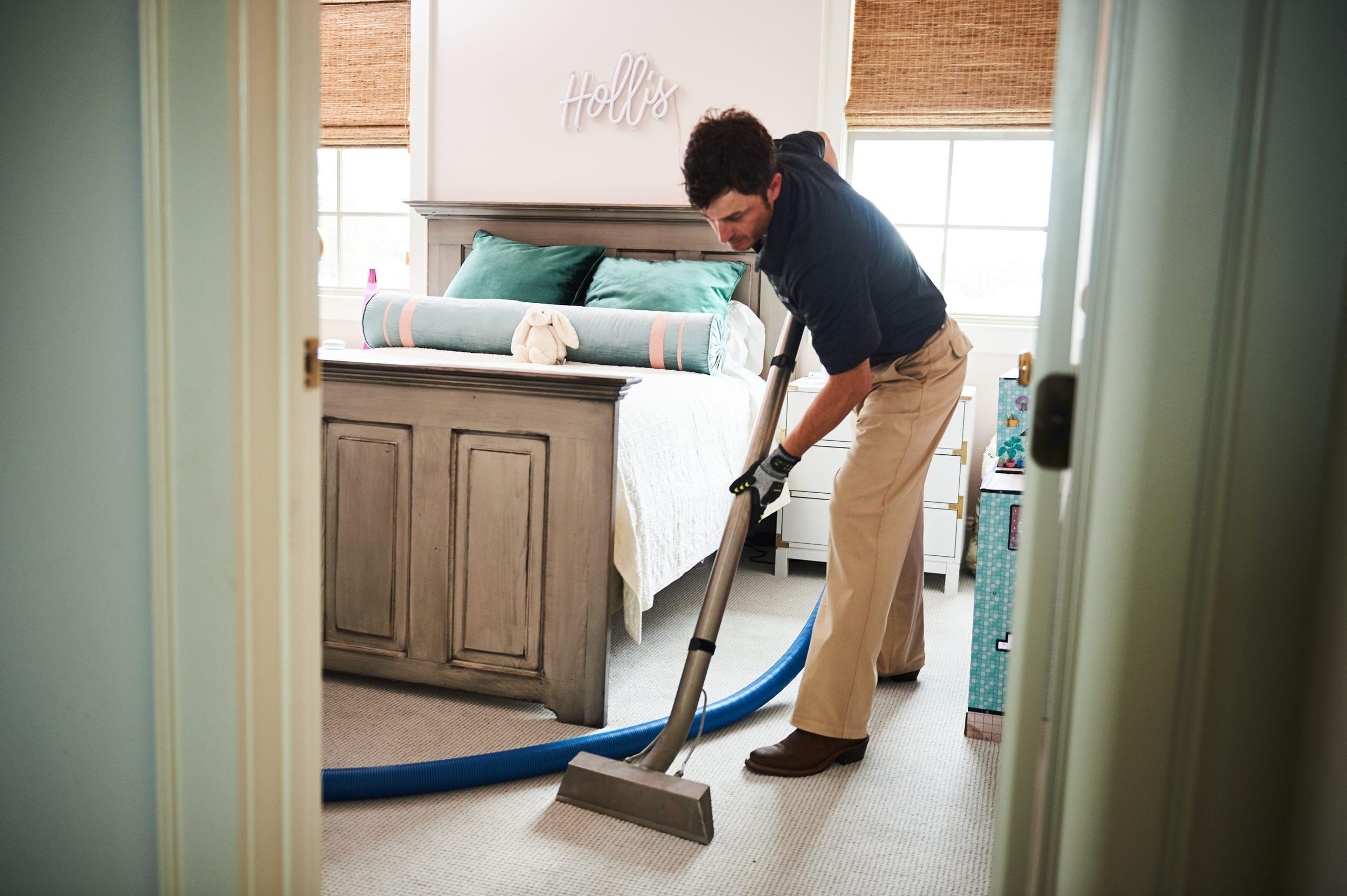 homeowner services - man clean floor